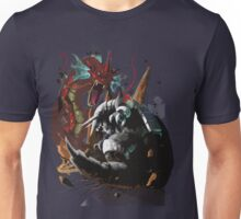 Graphic Aggron vs Gyarados Unisex T-Shirt