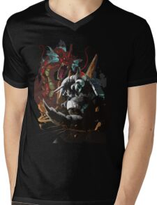 Graphic Aggron vs Gyarados Mens V-Neck T-Shirt