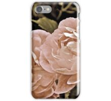 Textured  Roses iPhone Case/Skin