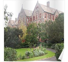 The Abbotsford Convent, Collingwood, Vic.  Classified by National Trust Australia Poster