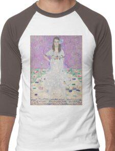 Gustav Klimt - Portrait Of Mada Primavesi 1912 Men's Baseball ¾ T-Shirt