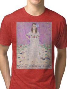Gustav Klimt - Portrait Of Mada Primavesi 1912 Tri-blend T-Shirt