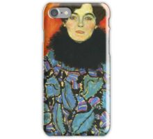 Gustav Klimt - Portrait Of Johanna Staude 1918 iPhone Case/Skin