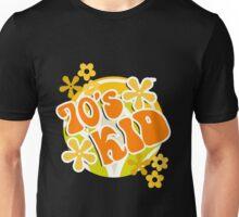 70s Kid - Retro Happy Flowers 1970s Hippies Design Unisex T-Shirt