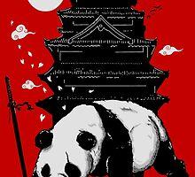Castle Keeper Panda by bykai