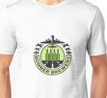 B-17 Heavy Bomber Beer Bottle Brewery Retro Unisex T-Shirt