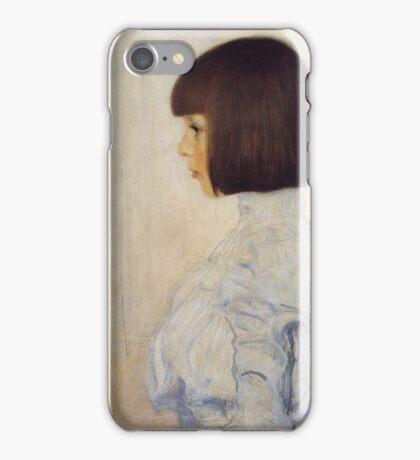 Gustav Klimt - Portrait Of Helene Klimt iPhone Case/Skin