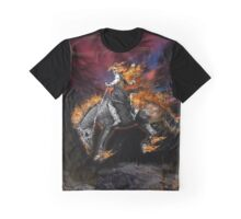 Texas Ghost Rider Graphic T-Shirt