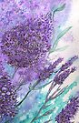 Lilacs iPhone Case by Linda Callaghan