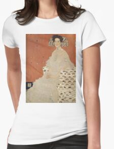 Gustav Klimt - Portrait Of Fritza Riedler, Detal Womens Fitted T-Shirt