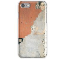 Gustav Klimt - Portrait Of Fritza Riedler 1906 iPhone Case/Skin