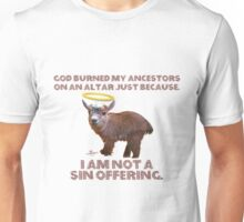 Baby Goat - I AM NOT A SIN OFFERING Unisex T-Shirt