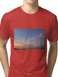 Sunset at the sea in Rimini Tri-blend T-Shirt