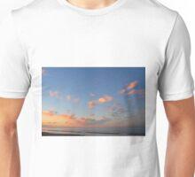 Sunset at the sea in Rimini Unisex T-Shirt