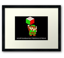 The Legend of Rubik Framed Print
