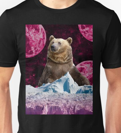 Bear King of the Ice Planet Unisex T-Shirt