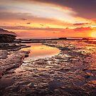 Coalcliff colour splash by Chris Brunton