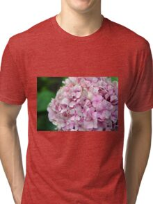 Small group of pink flowers Tri-blend T-Shirt