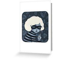 Little Thief Greeting Card