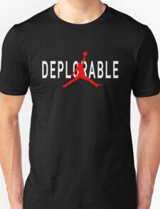 Deplorable X Jordan Black Unisex T-Shirt