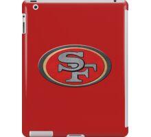 Steel San Francisco 49ers Logo iPad Case/Skin