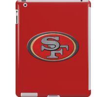 Steel San Francisco 49ers Logo iPad Case/Skin