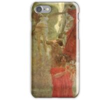 Gustav Klimt - Painted Composition Design To Medicine iPhone Case/Skin