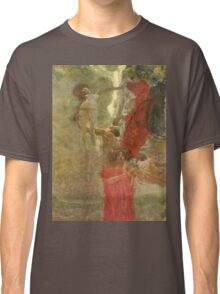 Gustav Klimt - Painted Composition Design To Medicine Classic T-Shirt