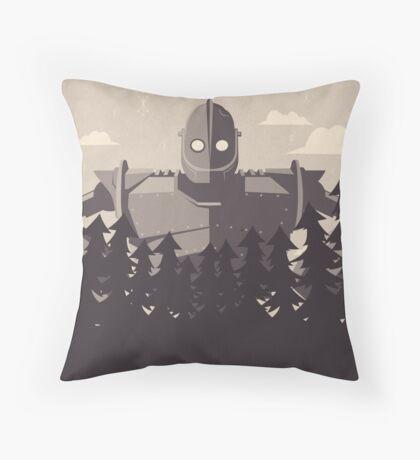 The Iron Giant Throw Pillow