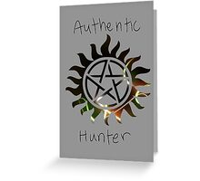 Authentic Hunter Greeting Card