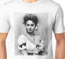 Sophia Loren Hollywood Actress Unisex T-Shirt