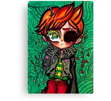 Claus - Masked Man - Mother 3 Canvas Print