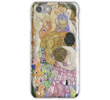 Gustav Klimt - Life And Death Detal iPhone Case/Skin