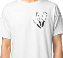 Pixel Knives Classic T-Shirt