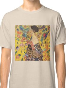 Gustav Klimt - Lady With Fan 1918 Classic T-Shirt