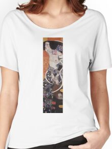 Gustav Klimt - Judith Ii Salome 1909  Women's Relaxed Fit T-Shirt