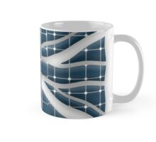 Union Jack with photovoltaic solar panels. Mug