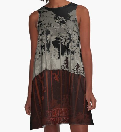 STRANGER THINGS A-Line Dress