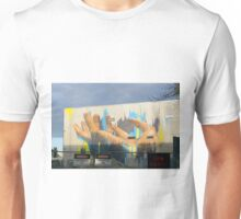 Hands Out, Christchurch City, NZ Unisex T-Shirt