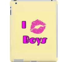 Kiss Boys iPad Case/Skin
