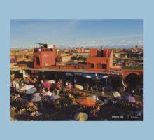 Marrakech spices market One Piece - Short Sleeve