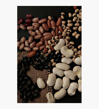 Dried beans Photographic Print