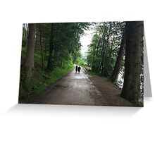 Black Forest Nuns  Greeting Card