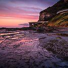 Sea Cliff Road at dawn by Chris Brunton