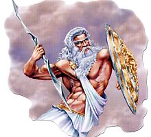 Zeus God of Thunder by Mrmasterinferno