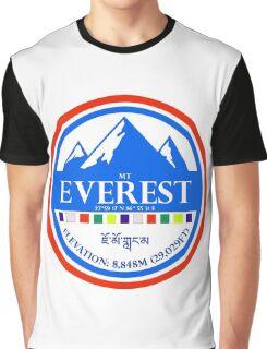 Mount Everest Graphic T-Shirt