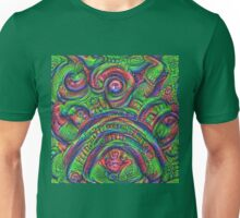 Green #DeepDream Unisex T-Shirt