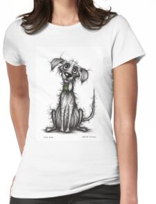Fab dog Womens Fitted T-Shirt