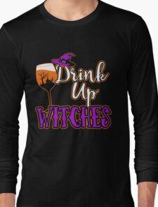 Halloween - Wine Tshirt Long Sleeve T-Shirt