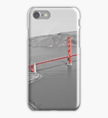 Rouge SF Golden Gate  iPhone Case/Skin